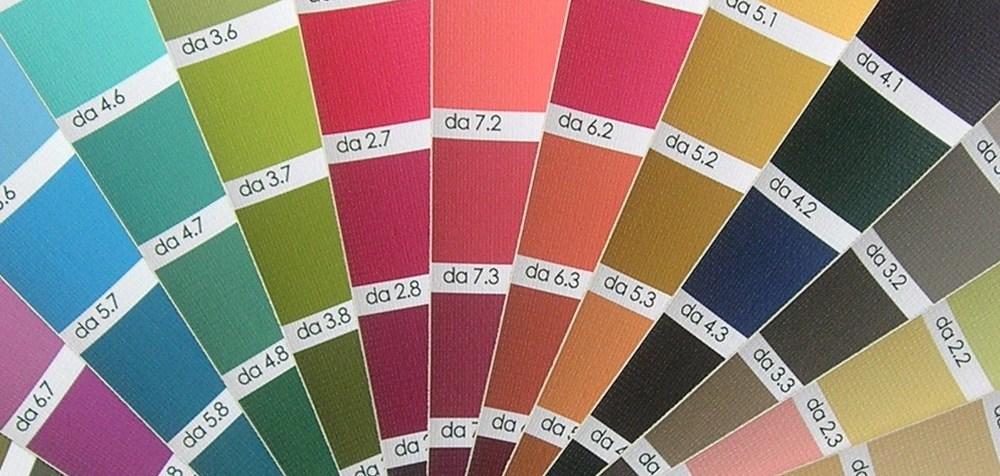 12 Tone color palette