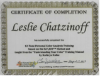Leslie has been trained in the well-known and respected Sci\ART™ 12-Tone Personal Color Analysis Method by a certified Sci\ART™ instructor. She received herCertificate of Completeion of this program from Terry Wildfong of Your Natural Design. Seehttp://yournaturaldesign.com/about/