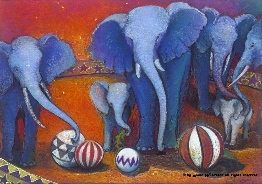 Baby Blue Elephants