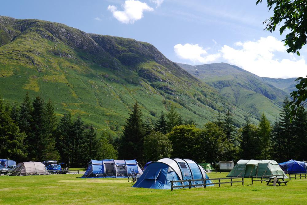Image result for glen nevis caravan and camping park