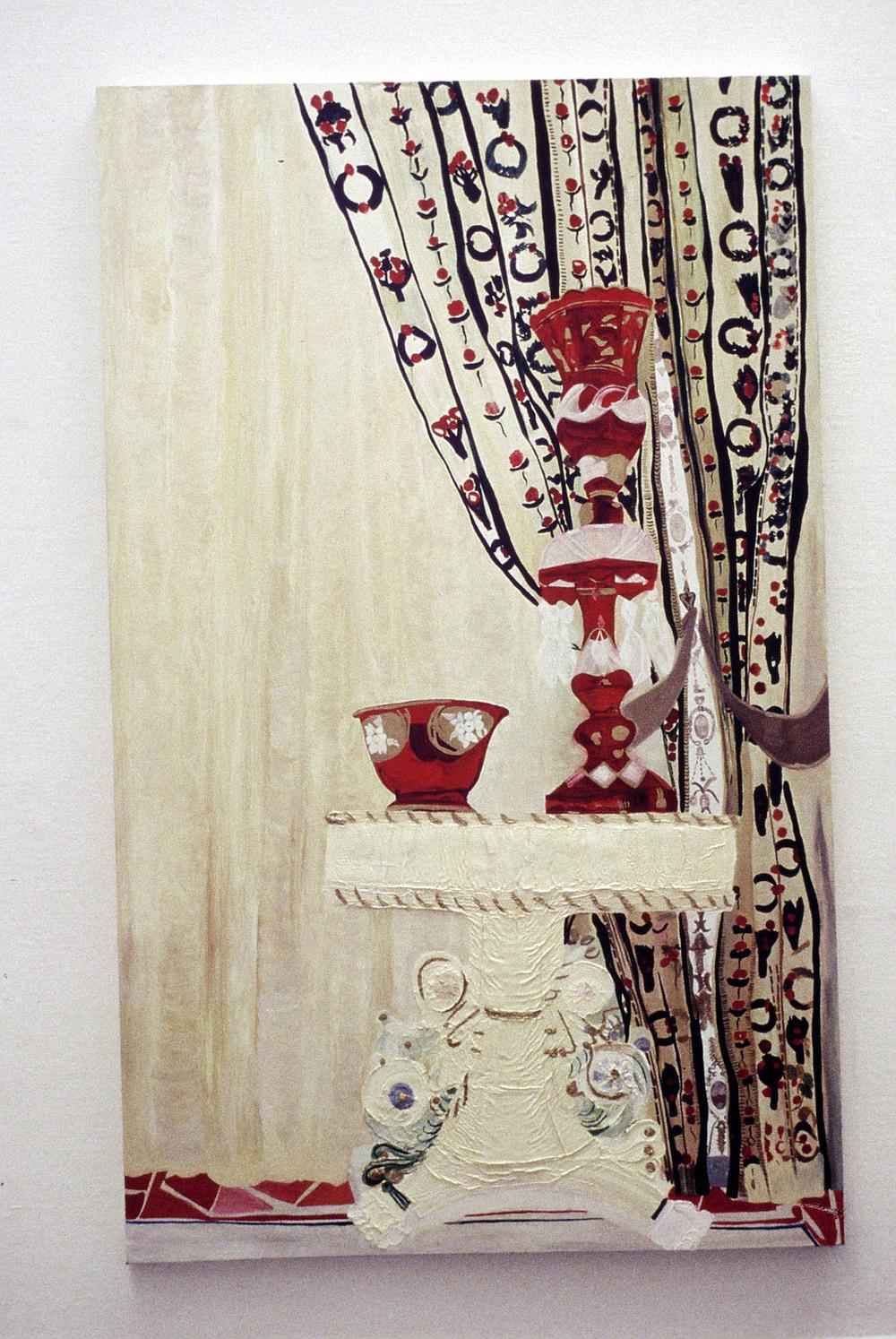 Wedding Cake   Oil on Canvas    186 x 117 cms