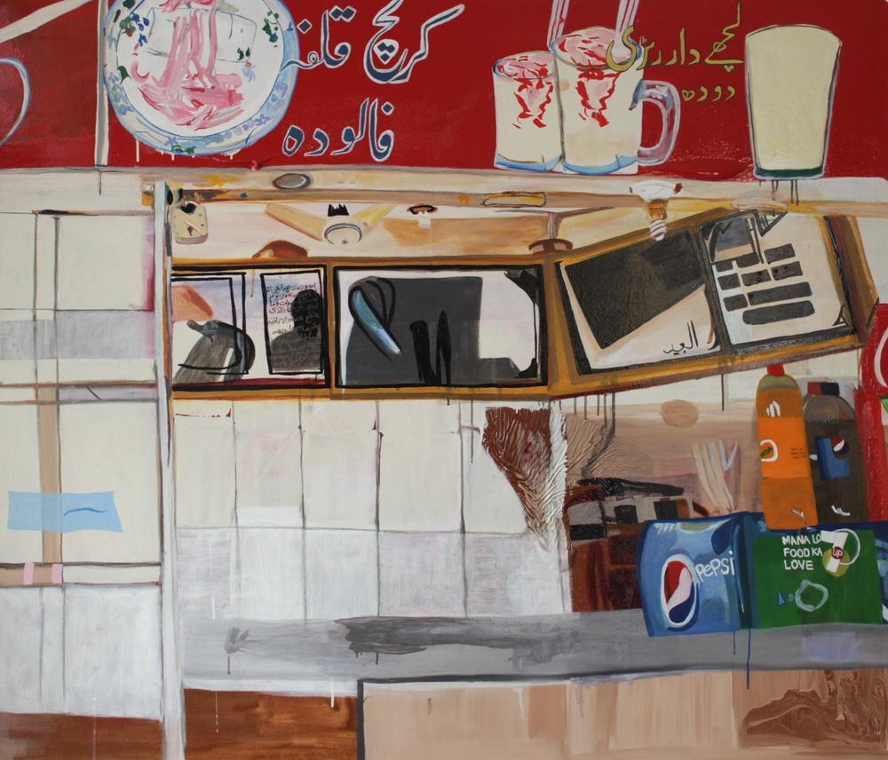 Oil on Canvas  140x120 cms