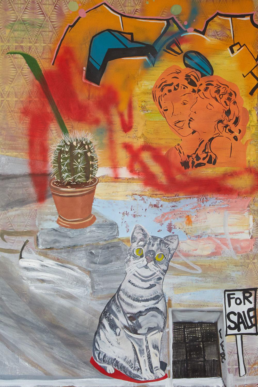 Berlin Wall   150 x 120 cms // oil on canvas