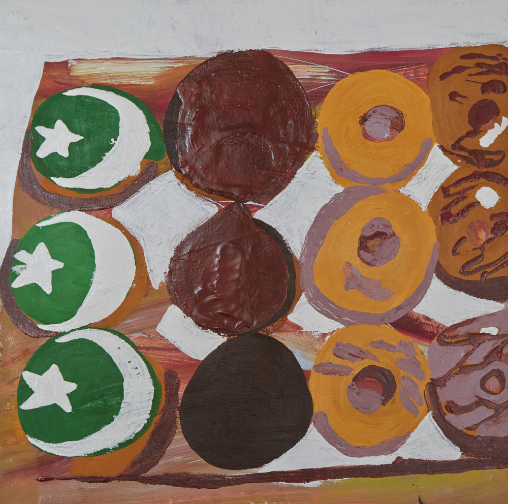 Donuts   50 x 50 cms // oil on canvas
