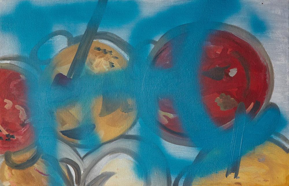 Curry   46 x 30 cms // oil on canvas