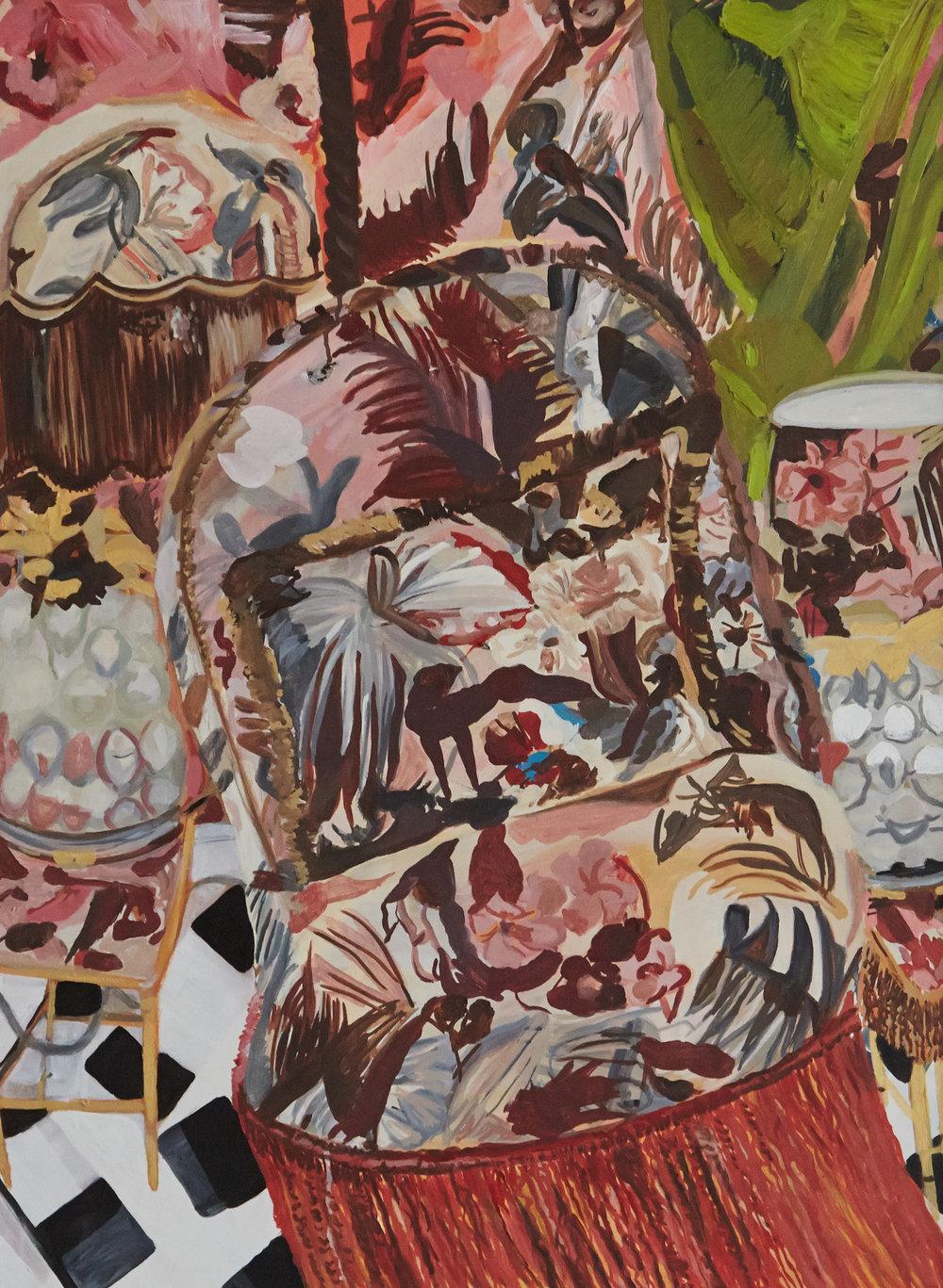 House of Hackney   75 x 57 cms // Oil on canvas