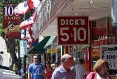 Dick's 5 & 10 in Historic Downtown Branson