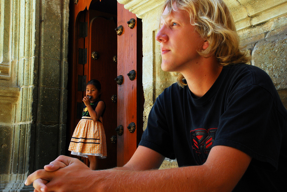 Sean and a Girl, Oaxaca, México