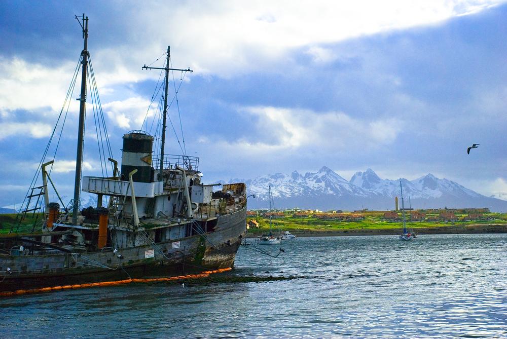 Straight of Magellan, Tierra del Fuego, Argentina