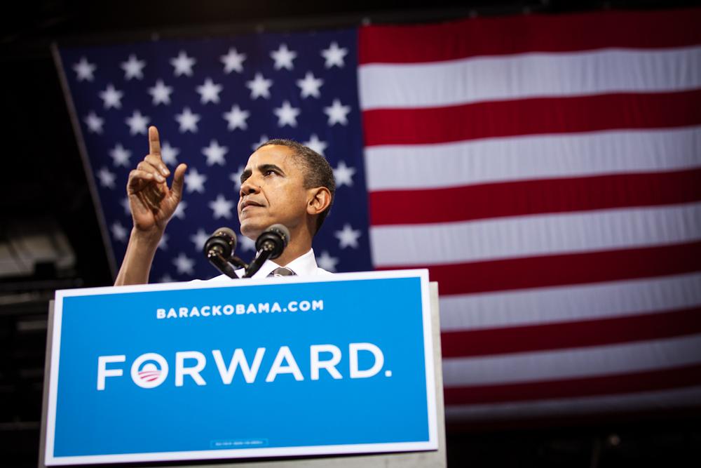 Obama: Forward