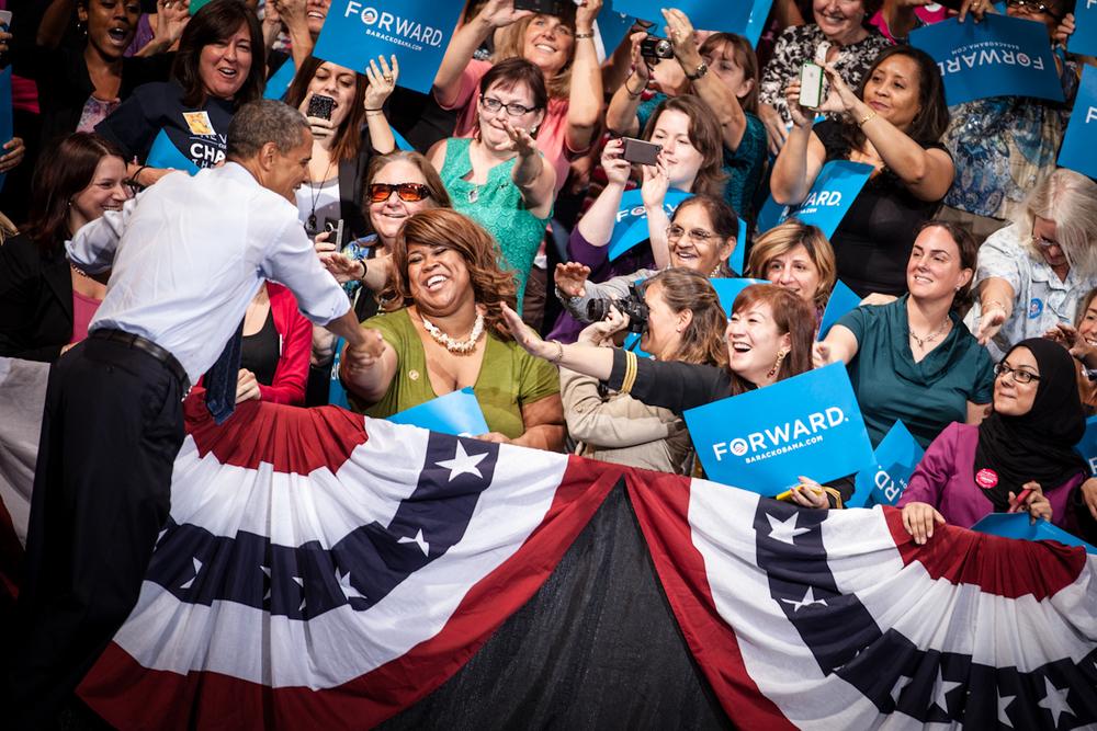 Obama at George Mason