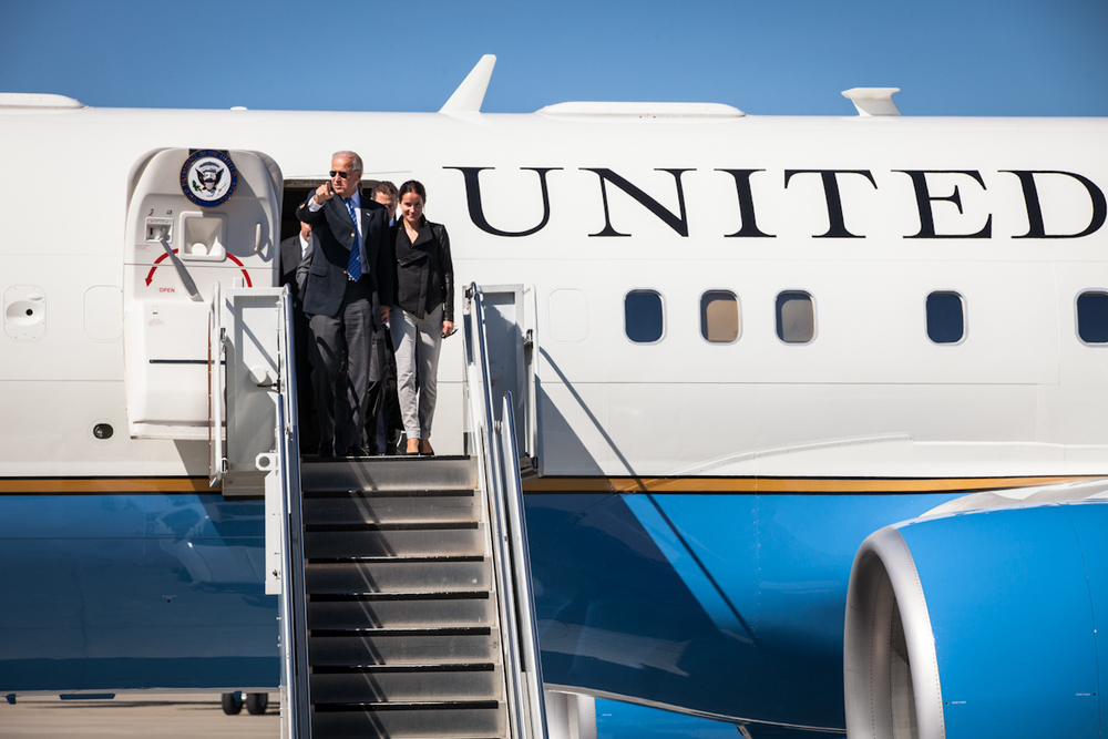 Biden & Air Force Two