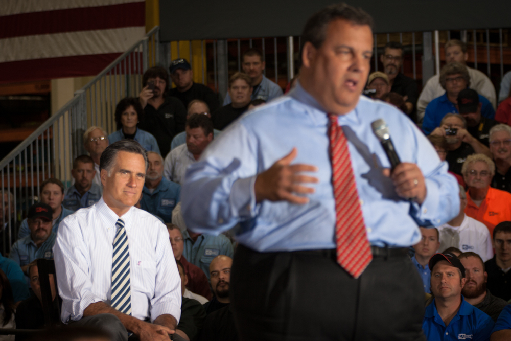 Romney & Gov. Christie