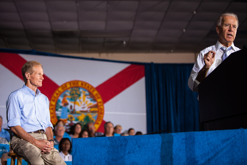 Biden in Sun City, Florida