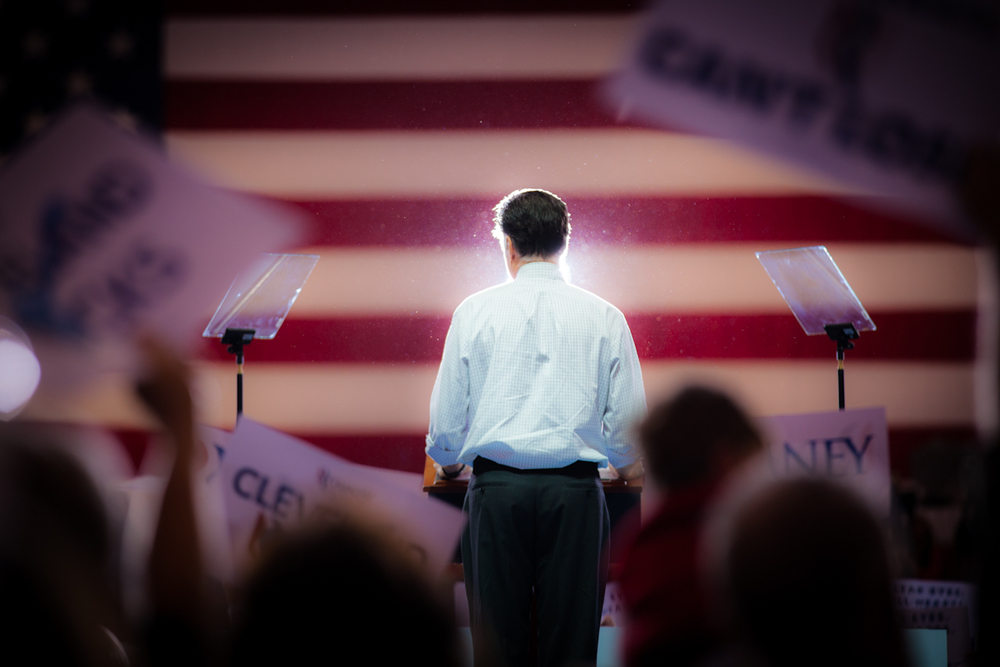 Mitt Romney in Cleveland, Ohio