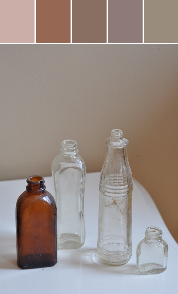 dead horse bay bottles, still life.