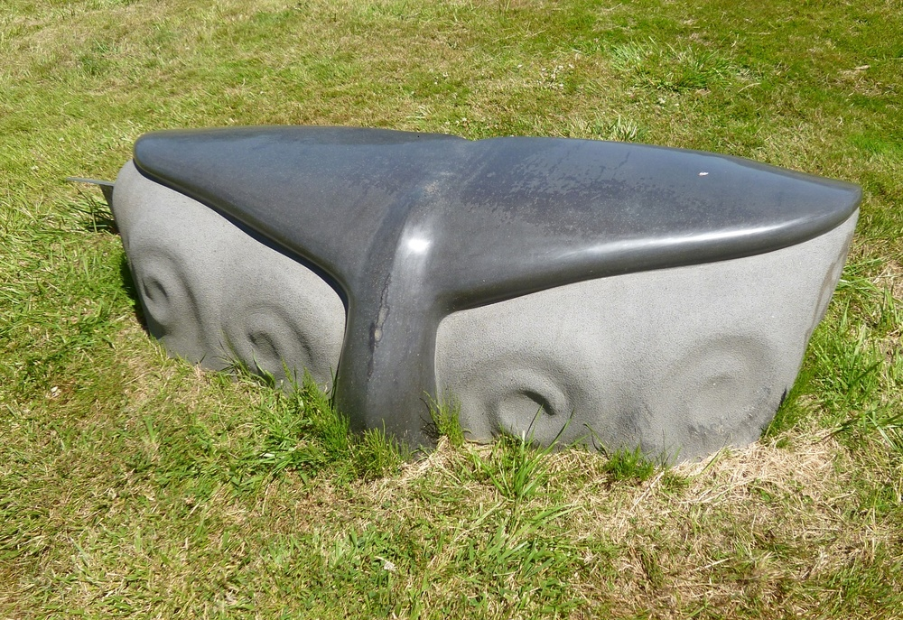 Whale of a Bench.  Craig Breitbach.