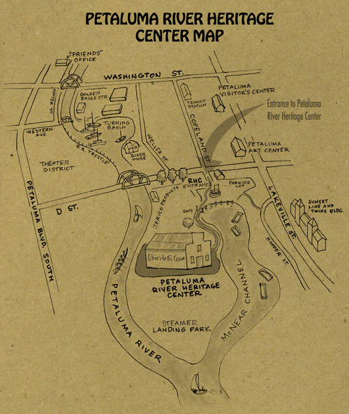 Rivertown Revival Petaluma Map