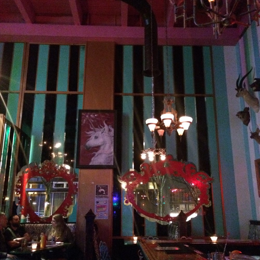 Slightly tacky opulence at  The Unicorn  lounge/bar in Seattle. We didn't have a lot of time for non-work related activity, but we managed to sneak in a bit of downtime! I simply adored this place.