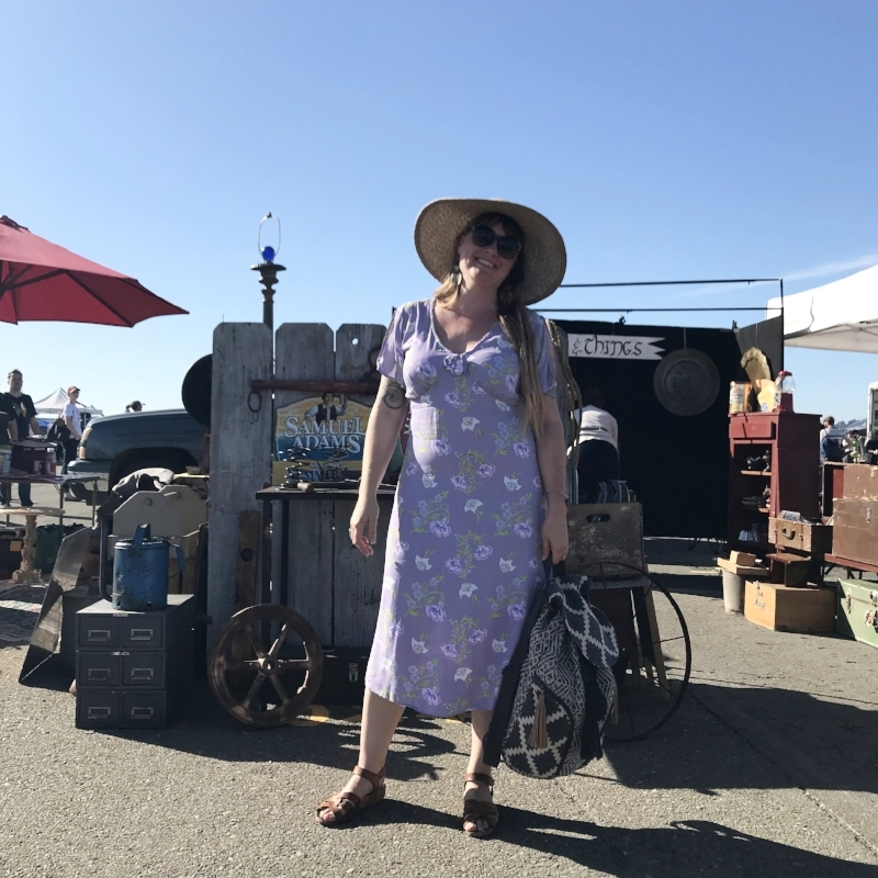 at the Alameda Point Antiques fair earlier this year