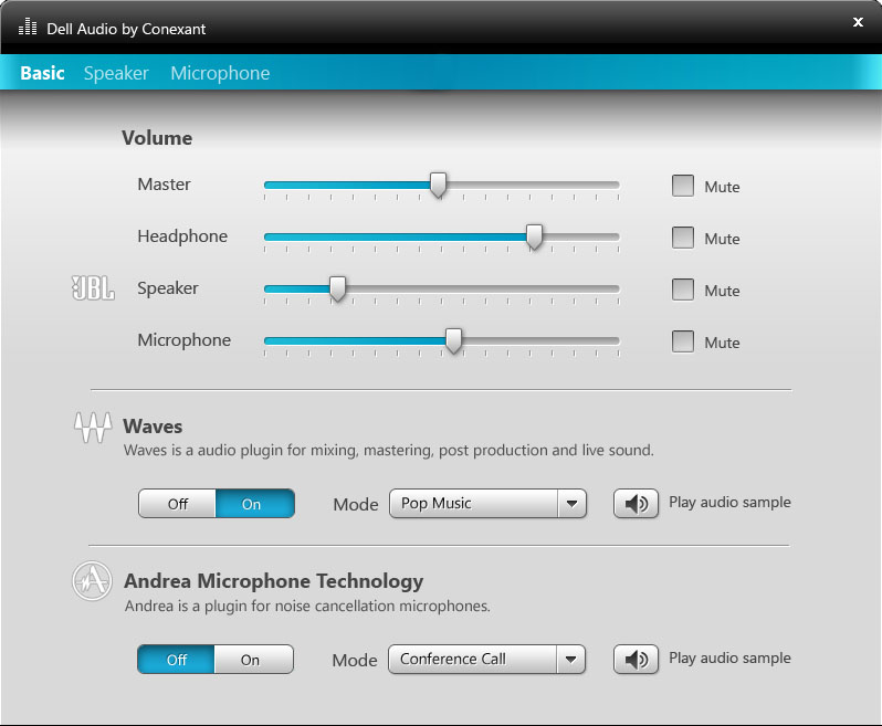 Audio Application Design, For Dell, now in mill of systems worldwide.