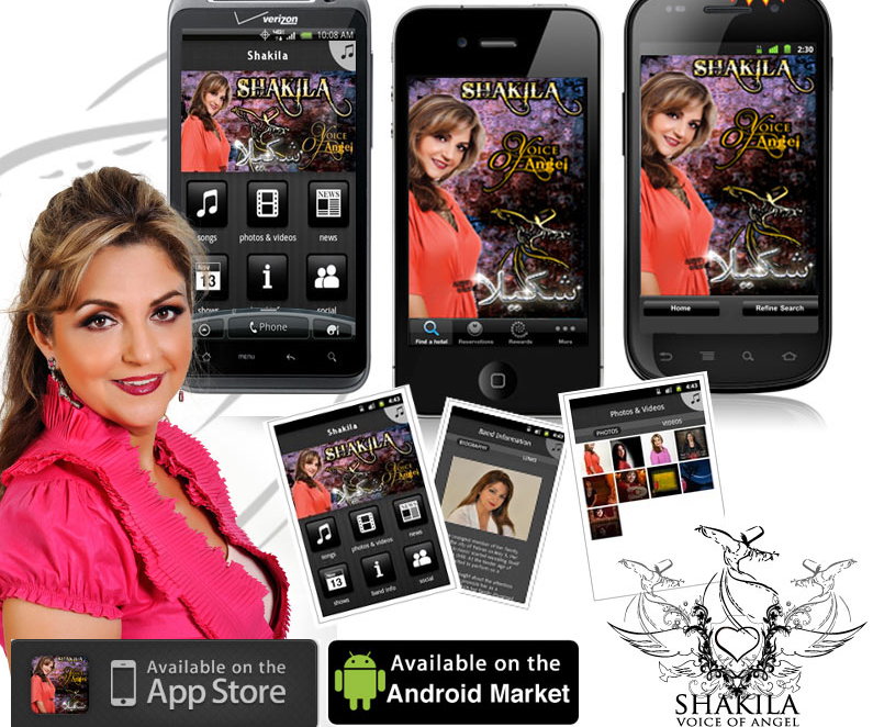 "Created entire app for Artist ""Shakila"" with Fan Signup & update, Video Audio Player, Events, Concerts, and more...."