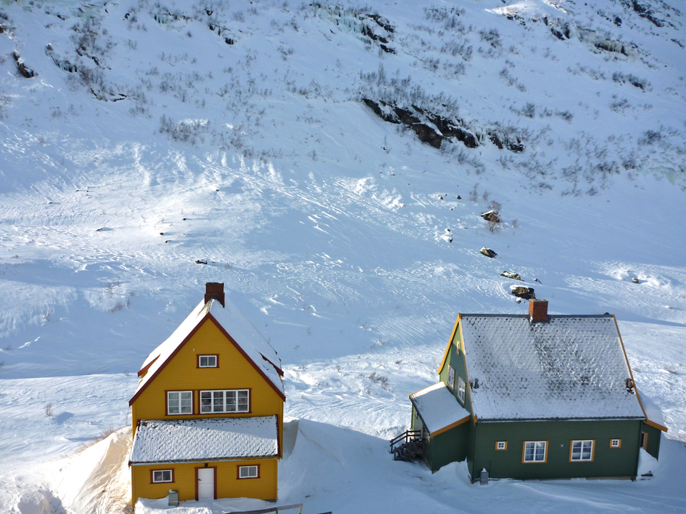 Houses at Myrdal