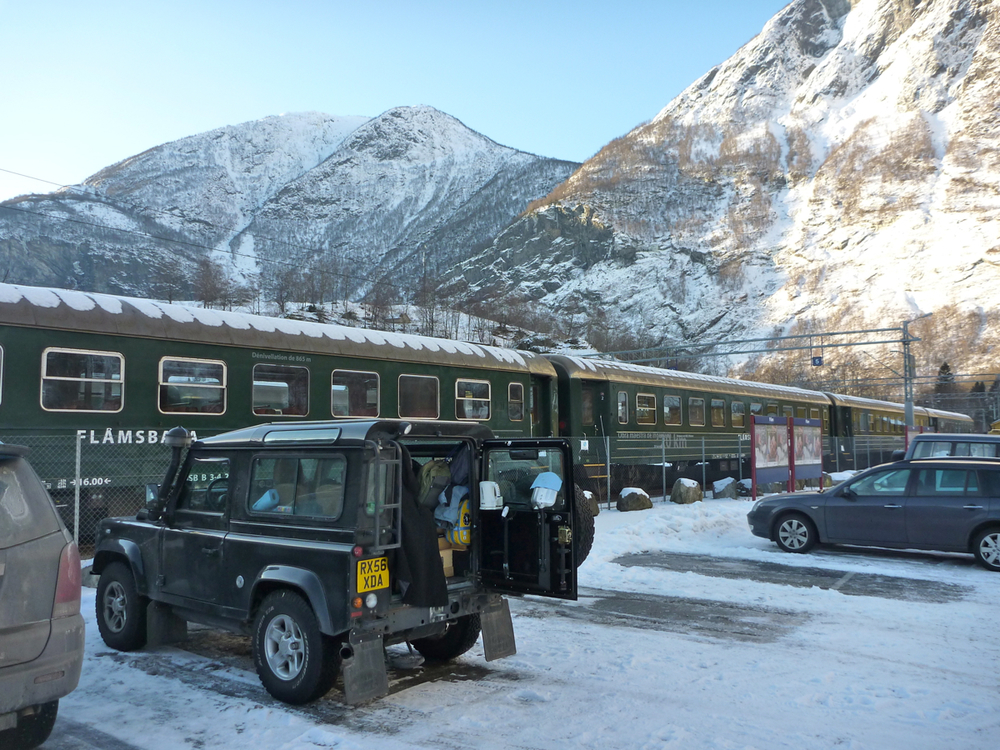Landy at Flåm