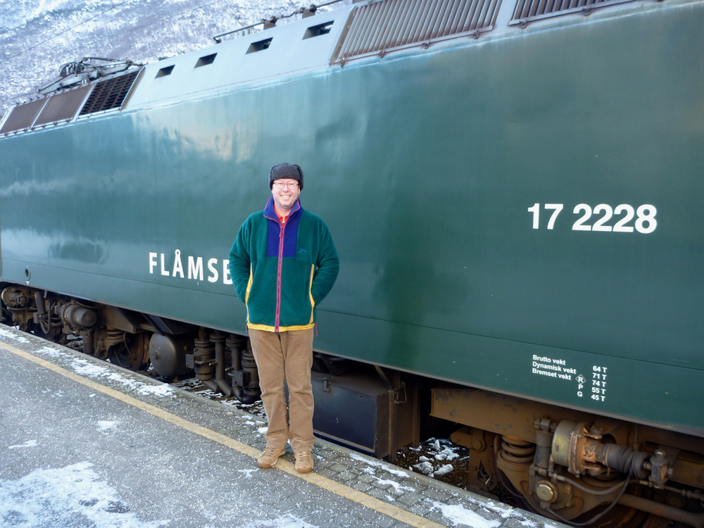 Richard by Flåmsbana locomotive