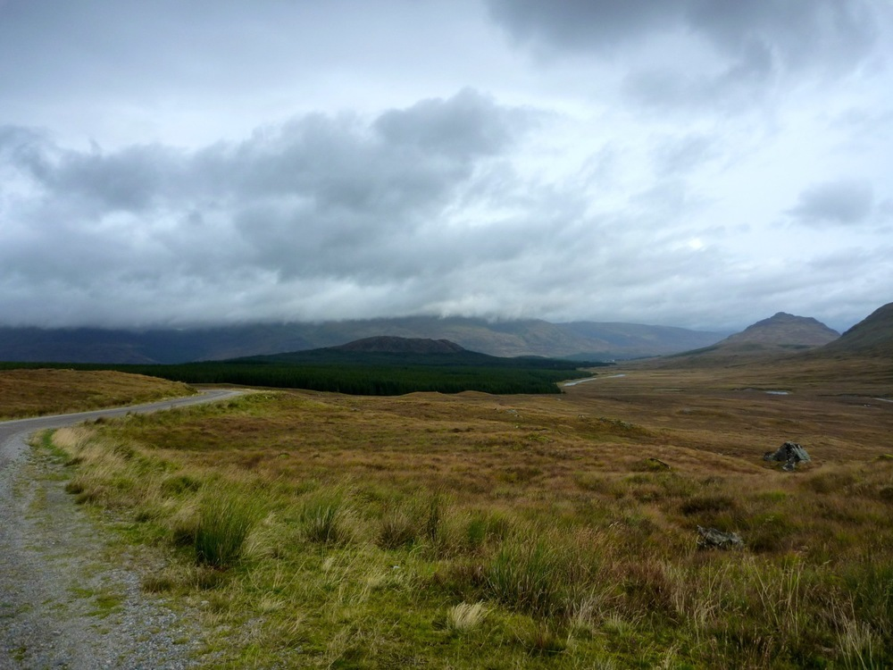 Glen Spean and Loch Laggan in the distance