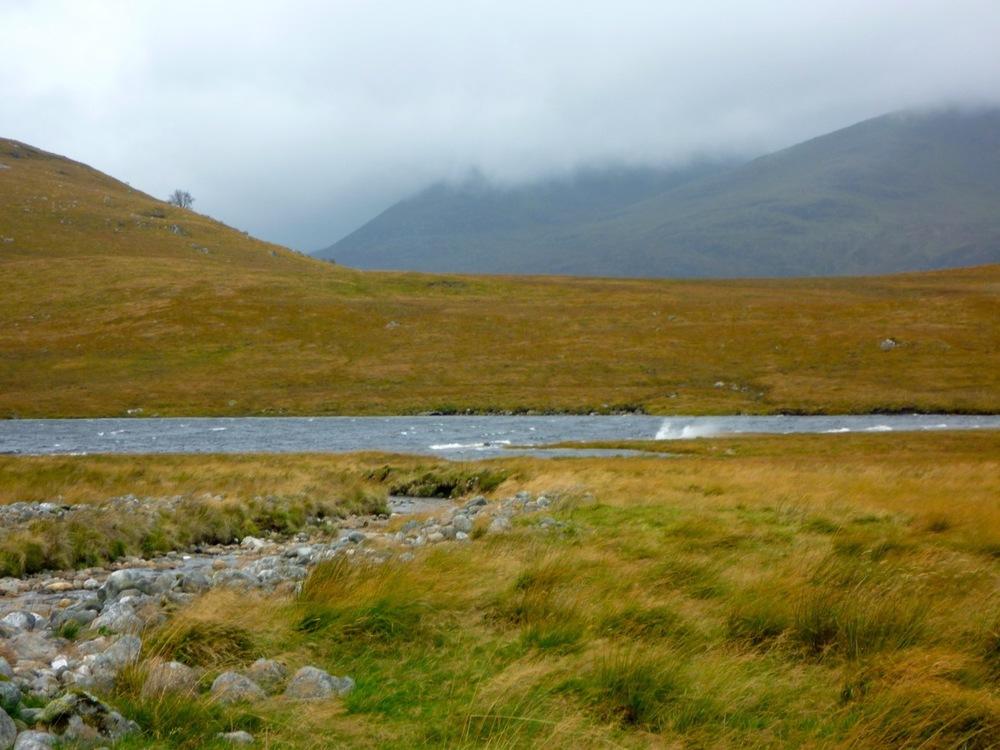 Whitecaps on Lochan na h-Eàrba