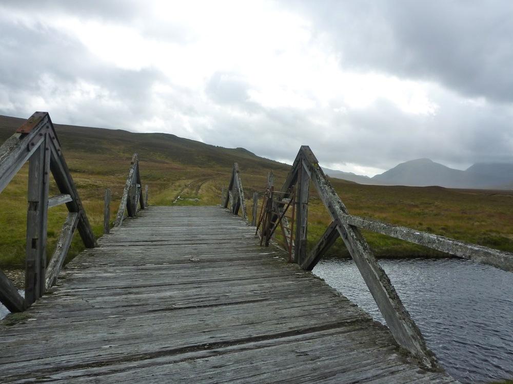 Old bridge over River Pattack