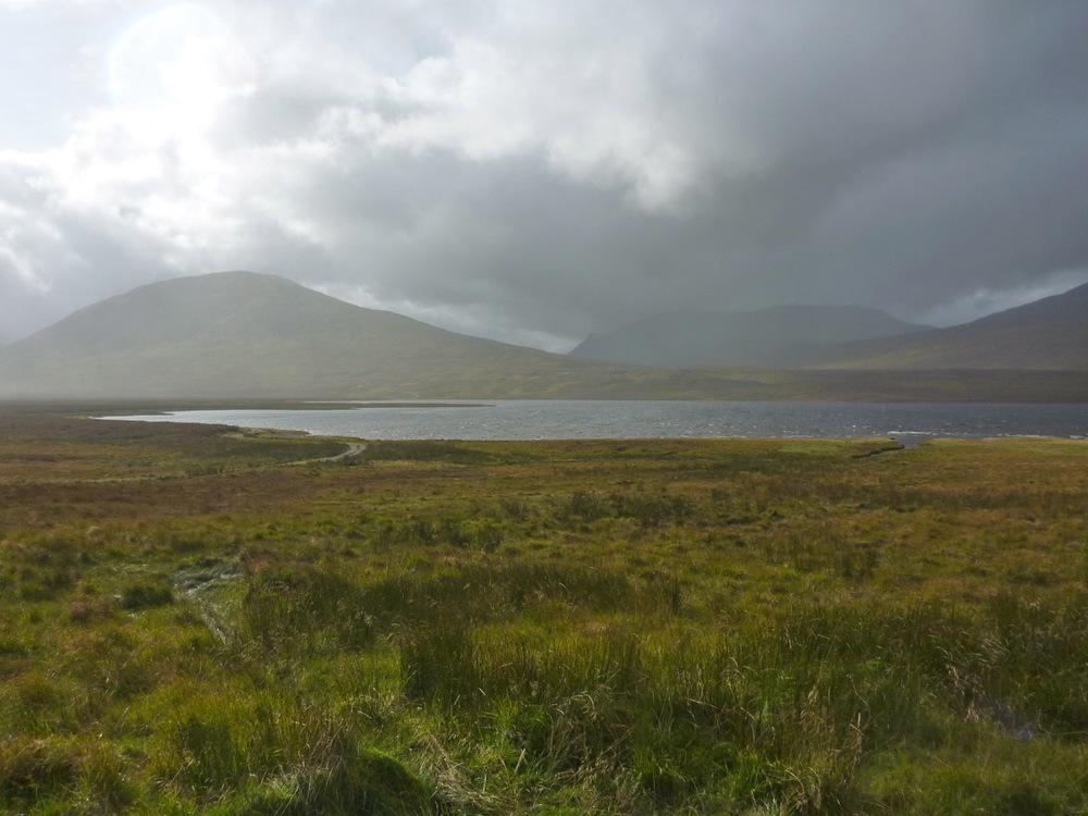 Loch Pattack, Carn Dearg and Ben Alder
