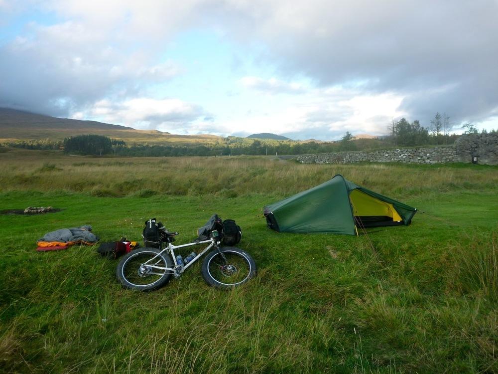 Campsite at Inveroran