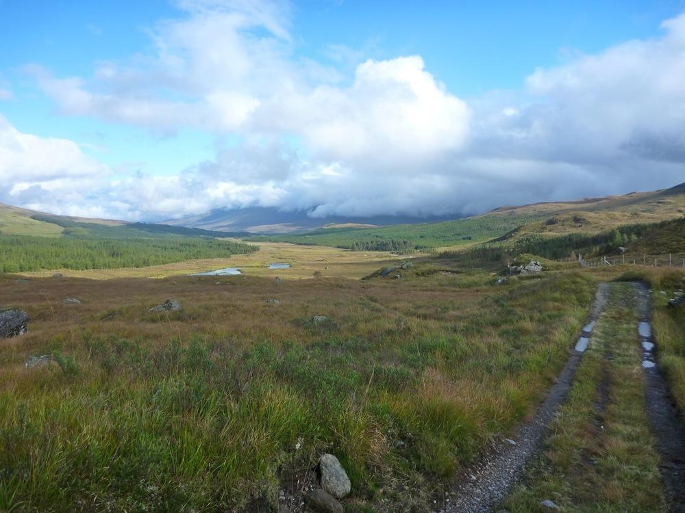 Toward Loch Tulla