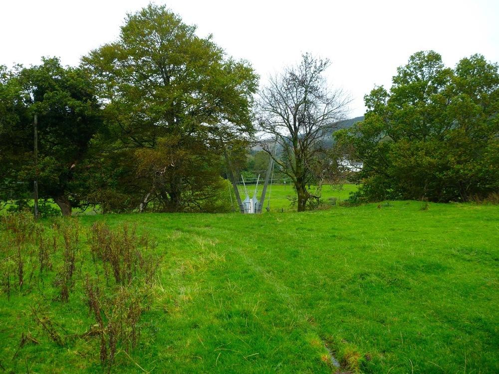 Footbridge across the River Awe
