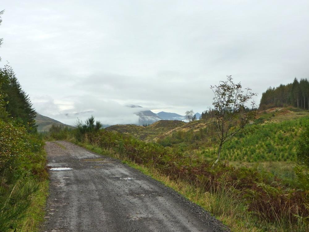 Road to Glen Kinglass