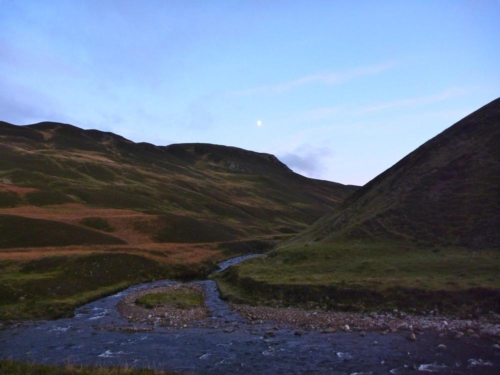glen loch opening into glen tilt