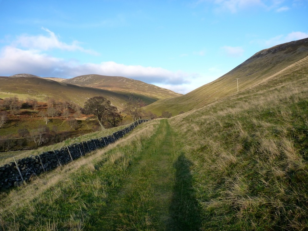 glen tilt opening up ahead, by croftmore