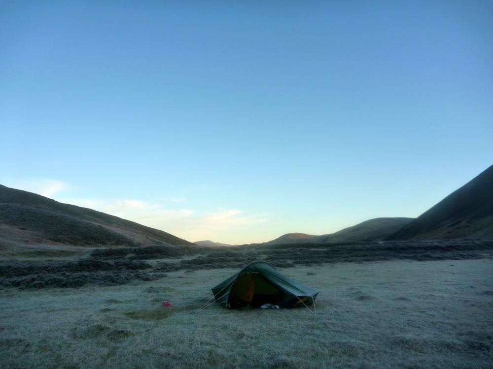 cold campsite