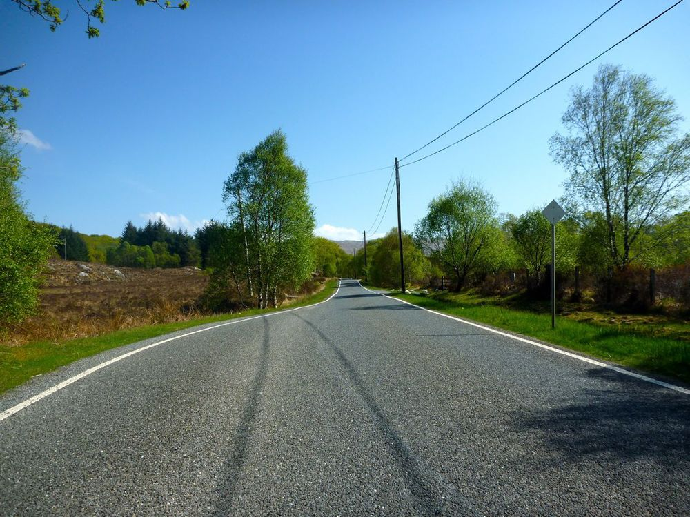new road surface undulating towards strontian.jpg
