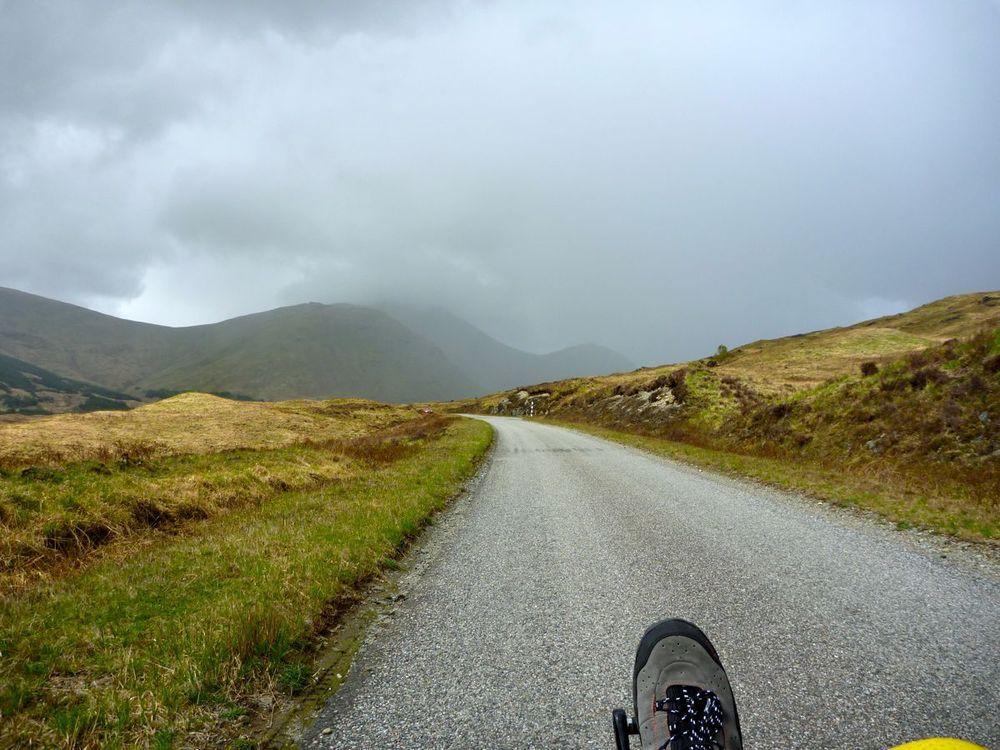 climbing up to the pass, weather worsening.jpg