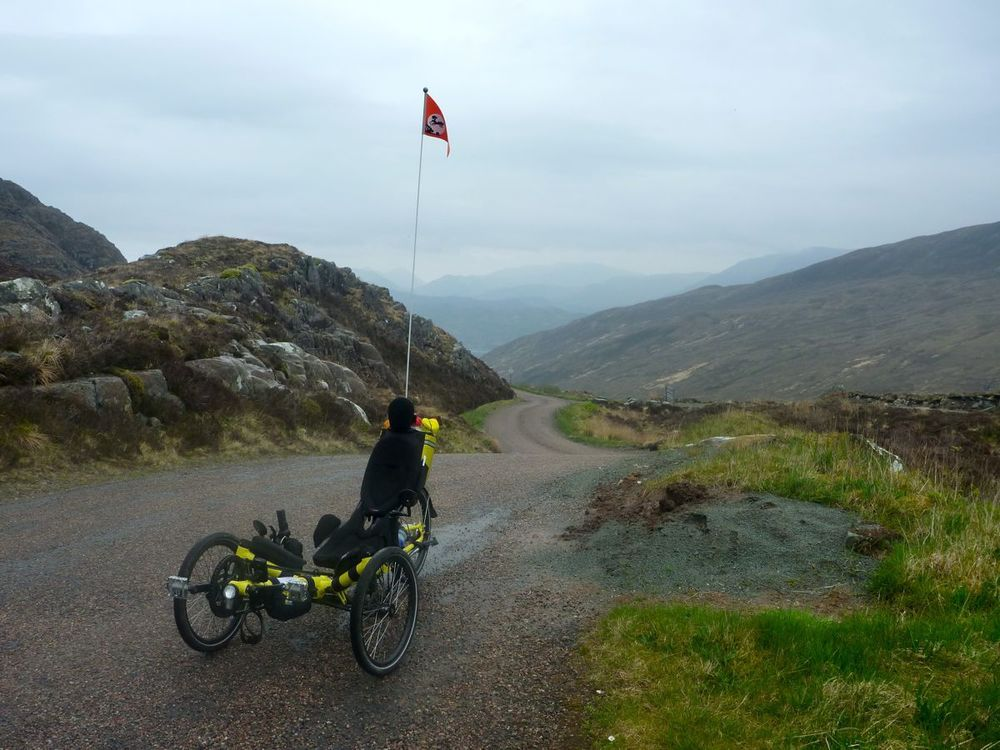 trike at the summit of bealach udal.jpg