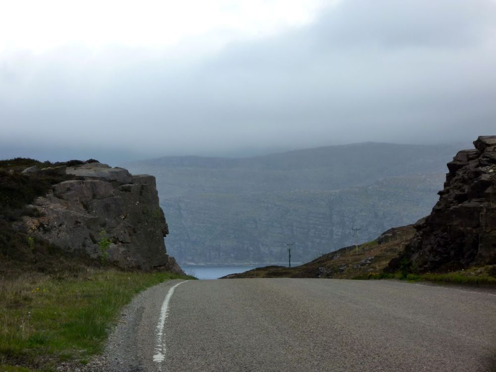 first summit out of ullapool, misty weather ahead.jpg
