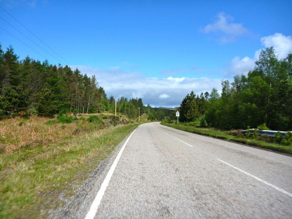 hot sunshine and a fine road.jpg