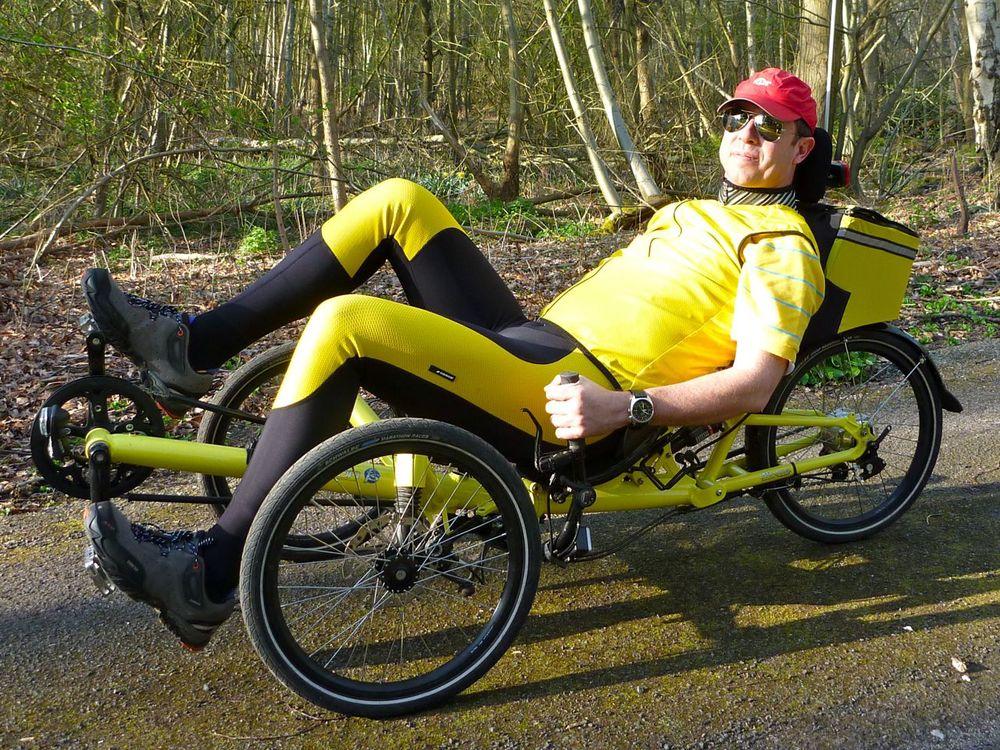 Trike with engine.