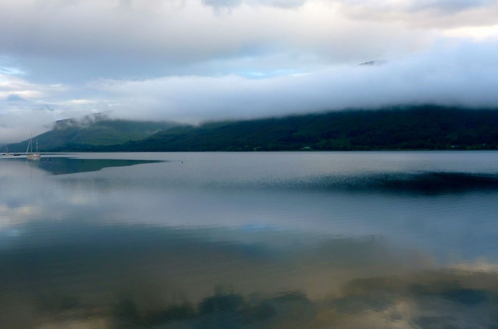 Loch Linnhe in the early morning.