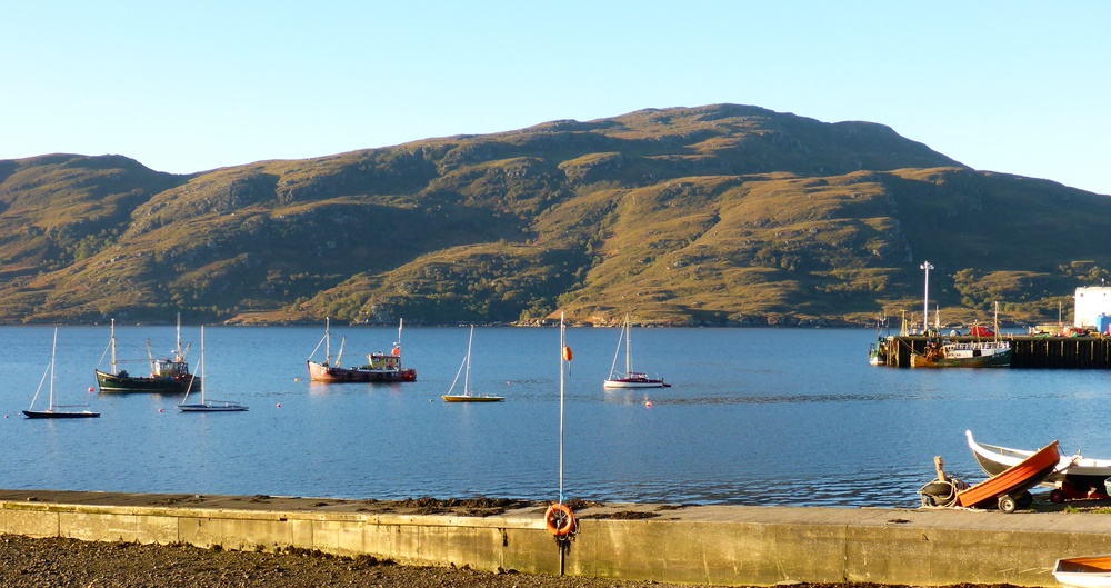 A perfect morning in Ullapool.