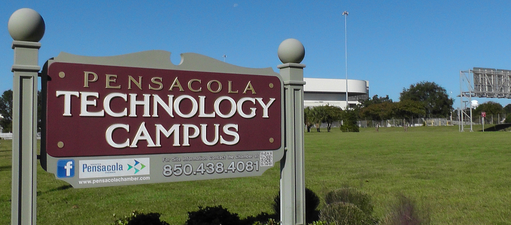 The Pensacola Technology Campus has been empty for five years, which seems to be the going rate for how long it takes to get anything accomplished in Pensacola.