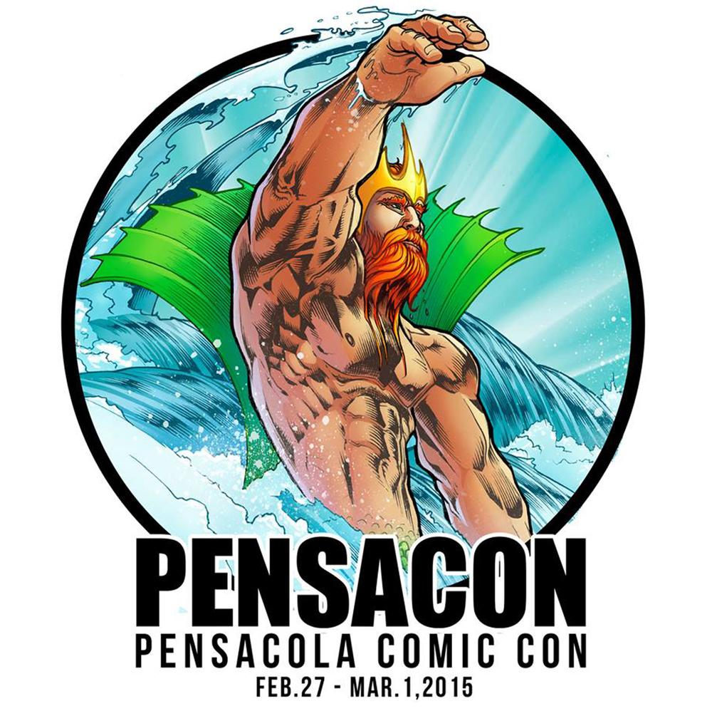 Pensacon 2015 logo